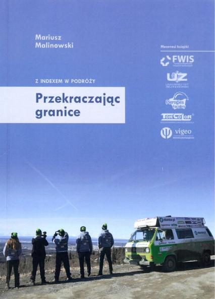 Przekraczając granice - Mariusz Malinowski | okładka