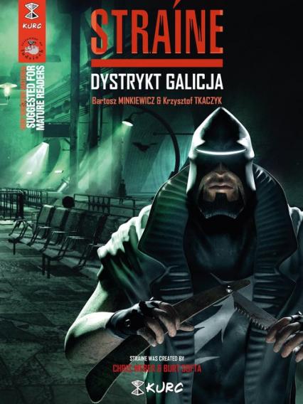 Straine Dystrykt Galicja okładka B - Tkaczyk Krzysztof, Minkiewicz Bartosz | okładka