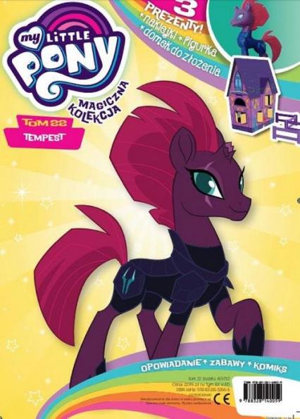 Magiczna Kolekcja My Little Pony 22 Tempest -  | okładka