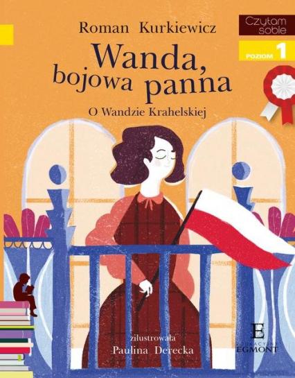 Czytam sobie Wanda bojowa panna poziom 1 - Roman Kurkiewicz | okładka