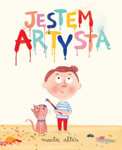 Jestem artystą - Marta Altes | okładka