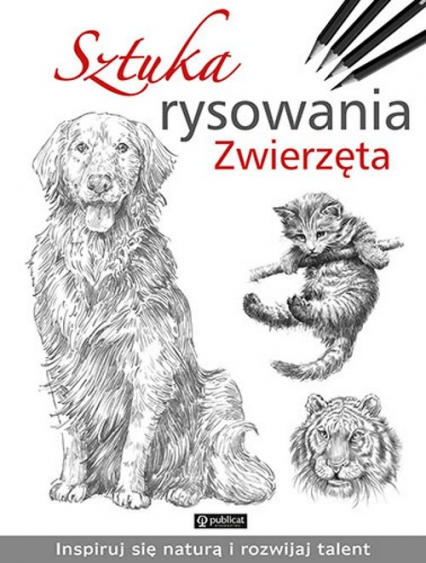Sztuka rysowania Zwierzęta -    okładka