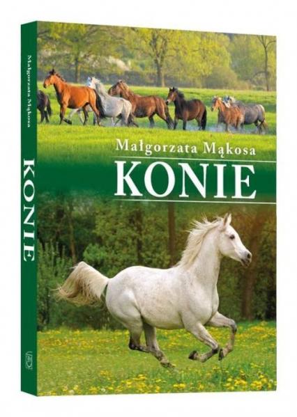 Konie - Małgorzata Mąkosa   okładka