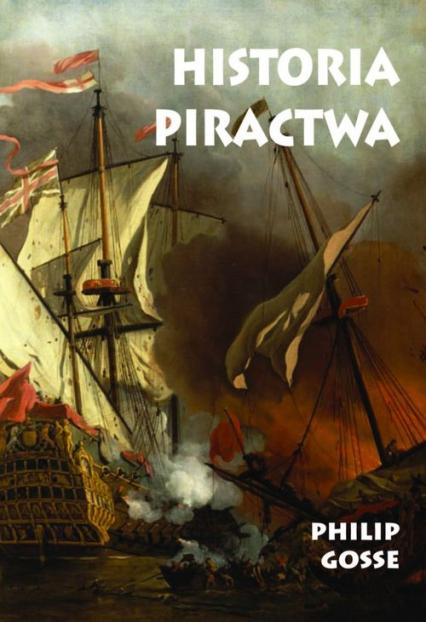 Historia piractwa - Philip Gosse | okładka