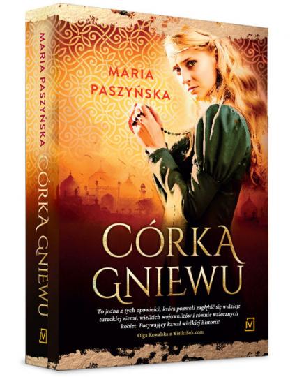 Córka gniewu - Maria Paszyńska | okładka