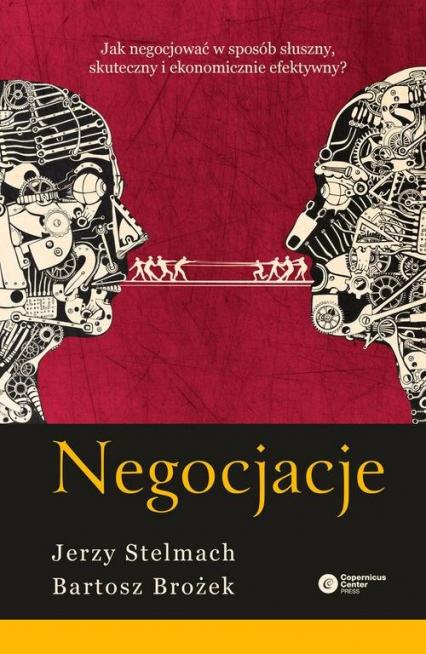 Negocjacje - Stelmach Jerzy, Brożek Bartosz | okładka