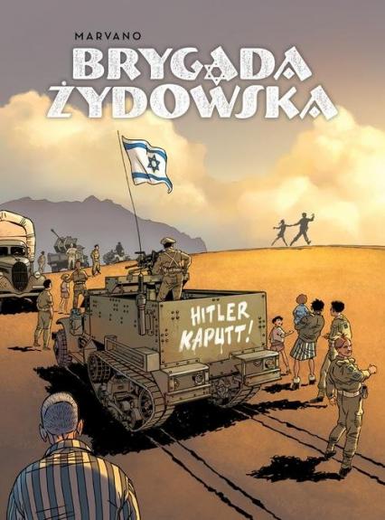 Brygada Żydowska - Marvano Marvano | okładka