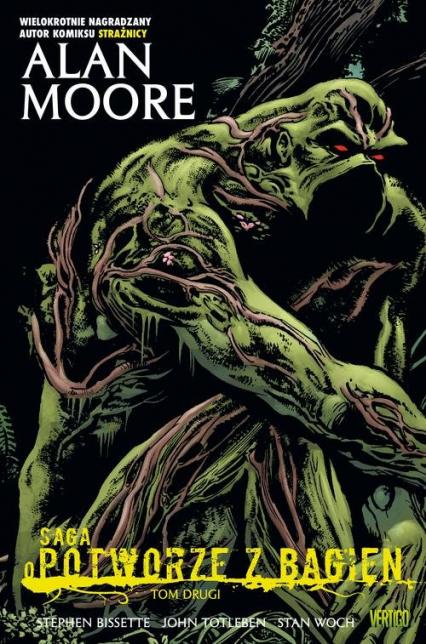 Saga o Potworze z Bagien Tom 2 - Alan Moore | okładka
