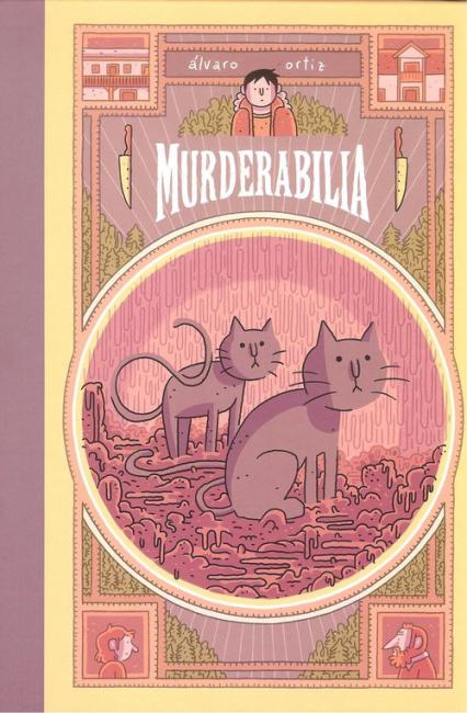 Murderabilia - Alvaro Ortis | okładka