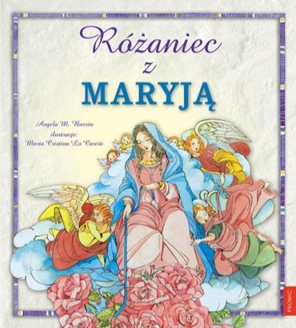 Różaniec z Maryją - Burrin Angela M. | okładka
