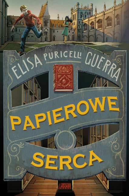 Papierowe serca - Guerra Elisa Puricelli | okładka