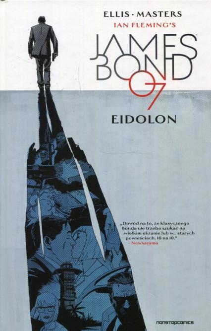 James Bond Tom 2 Eidolon - Masters Ellis, Flemings Ian | okładka