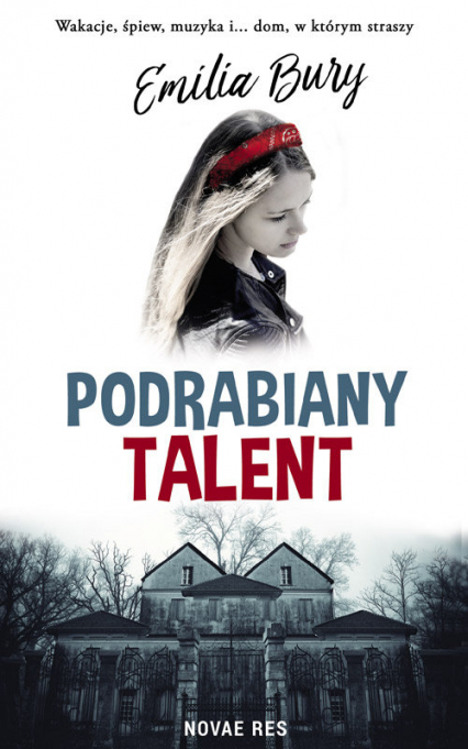 Podrabiany talent - Emilia Bury | okładka