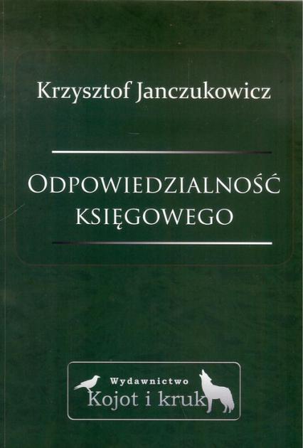 Odpowiedzialność księgowego - Krzysztof Janczukowicz | okładka