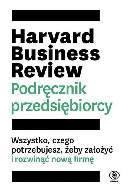 Harvard Business Review Podręcznik przedsiębiorcy -  | okładka