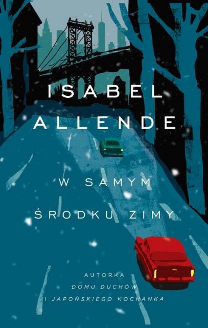 W samym środku zimy - Isabel Allende | okładka