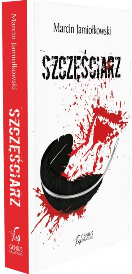 Szczęściarz - Marcin Jamiołkowski | okładka