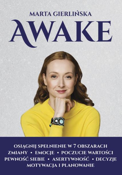 Awake Osiągnij spełnieie w 7 obszarach życia - Marta Gierlińska | okładka