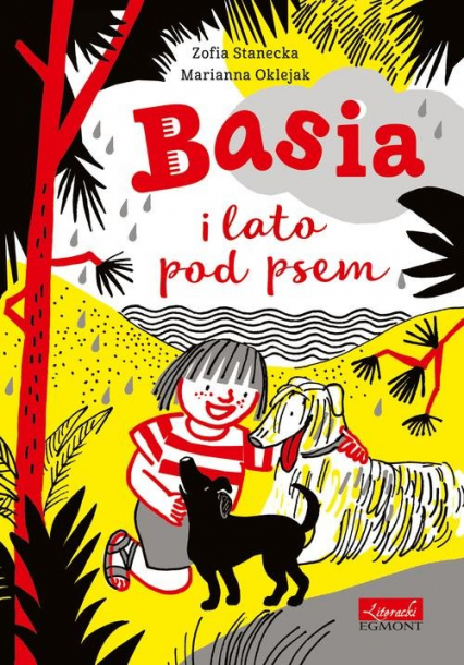 Basia i lato pod psem - Zofia Stanecka | okładka