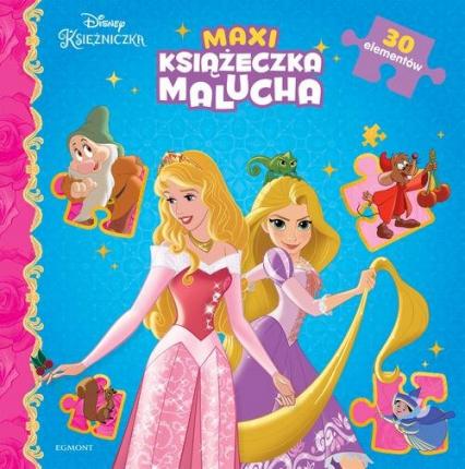 Księżniczki Maxi książeczka malucha -  | okładka