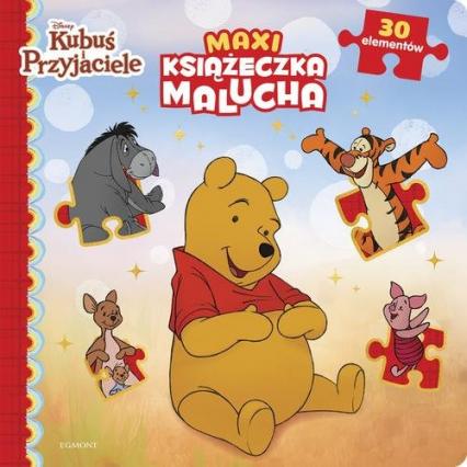Kubuś i przyjaciele Maxi książeczka malucha -    okładka