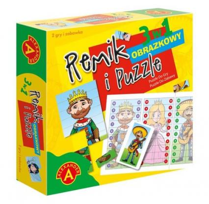 Remik obrazkowy i Puzzle -  | okładka