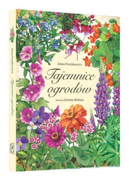 Tajemnice ogrodów - Anna Paszkiewicz | okładka