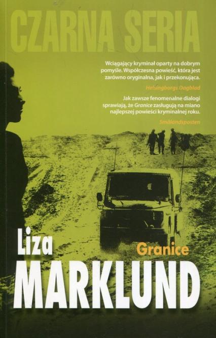 Granice - Liza Marklund   okładka