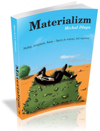 Materializm - Michał Długa | okładka