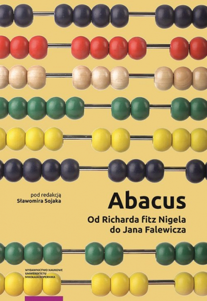 Abacus od Richarda fitz Nigela do Jana Falewicza -  | okładka
