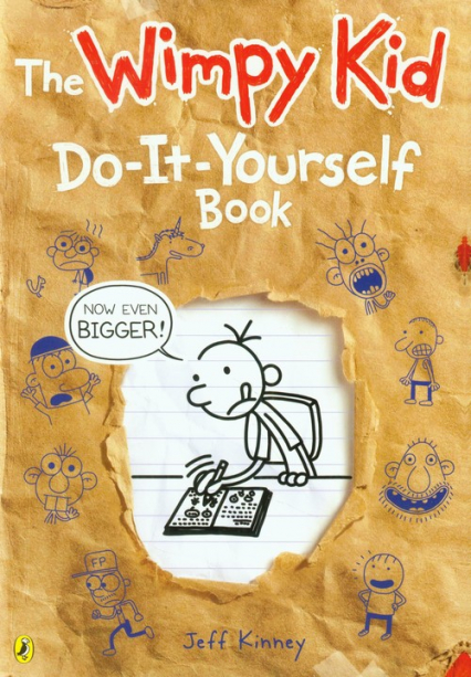 Diary of a Wimpy Kid Do-It-Yourself Book - Jeff Kinney | okładka