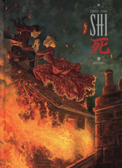 Shi 2 Król Demon - Zidrou | okładka