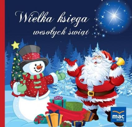 Wielka księga wesołych świąt - Magdalena Marczewska | okładka