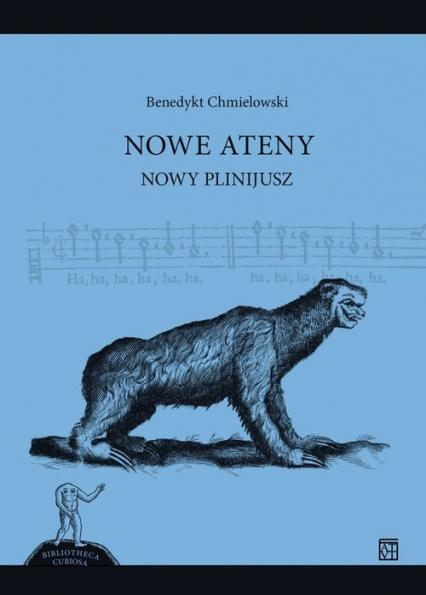 Nowe Ateny Nowy Plinijusz - Benedykt Chmielowski | okładka