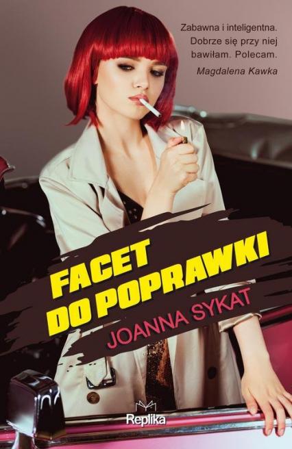 Facet do poprawki - Joanna Sykat | okładka