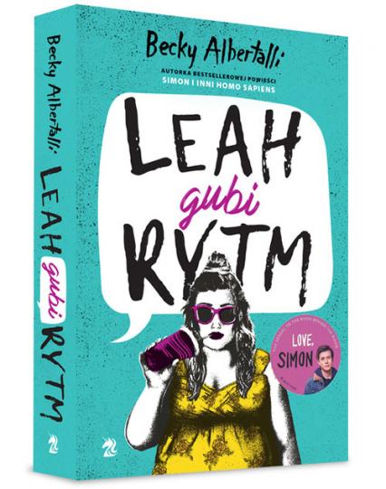 Leah gubi rytm - Albertalli Becky | okładka