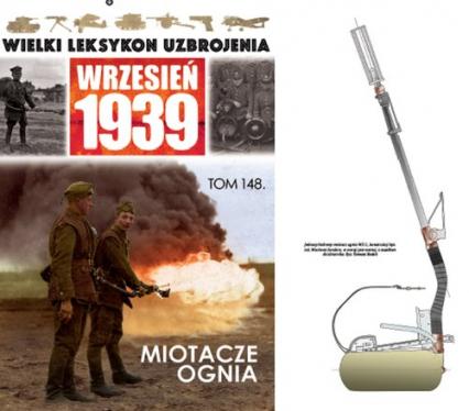 Wielki Leksykon Uzbrojenia Wrzesień 1939 Tom 148 Miotacze ognia -  | okładka