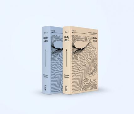 Moby Dick Tom 1 i 2 - Herman Melville | okładka