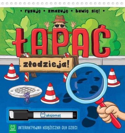 Łapać złodzieja Interaktywna książeczka dla dzieci -  | okładka