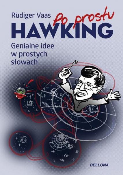 Hawking Genialne idee w prostych słowach - Rüdiger Vaas | okładka
