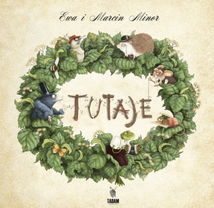 Tutaje - Ewa Minor   okładka