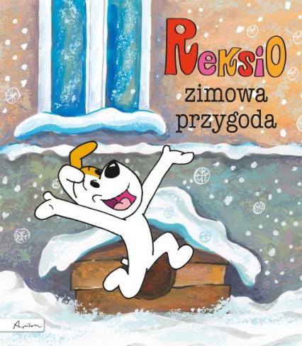 Reksio Zimowa przygoda - Maria Szarf | okładka