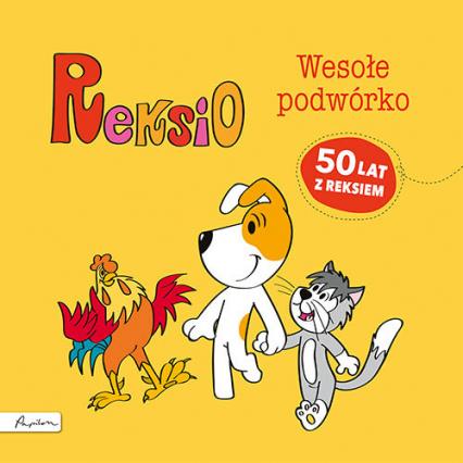 Reksio Wesołe podwórko - Maria Szarf | okładka