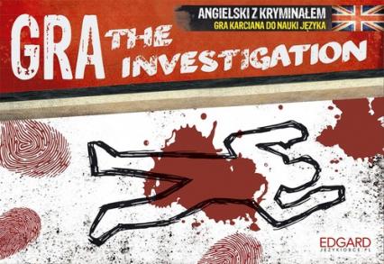 The Investigation Angielski z kryminałem Gra karciana do nauki języka -    okładka