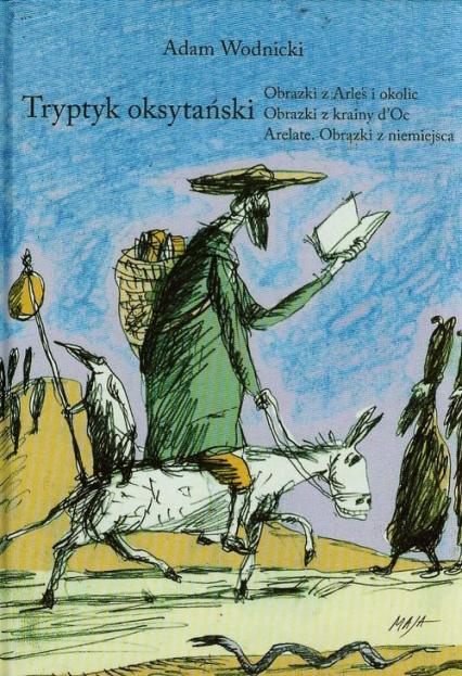 Tryptyk oksytański - Adam Wodnicki | okładka