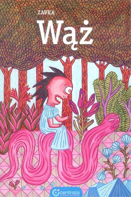 Wąż - Zavka | okładka
