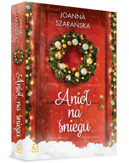 Anioł na śniegu - Joanna Szarańska | okładka