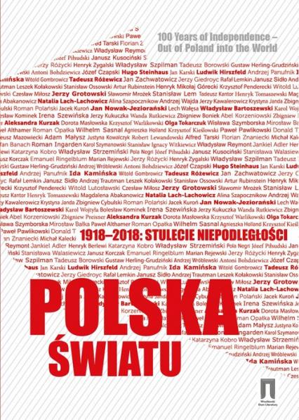 1918-2018 stulecie niepodległości Polska światu - Krzysztof Pomian | okładka
