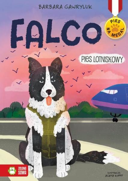 Falco Pies lotniskowy - Barbara Gawryluk | okładka