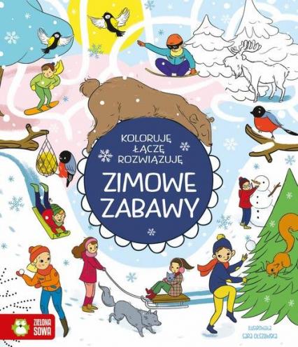 Zimowe zabawy - Patrycja Wojtkowiak-Skóra | okładka